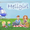 HeliGirl Button
