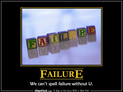 Failure - We can't spell it without U